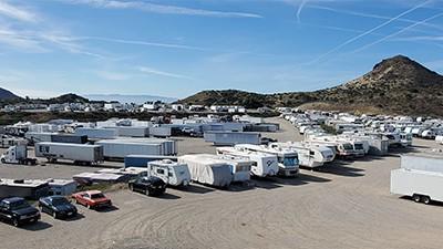 Agua Dulce RV Parking & Storage north of los angeles CA