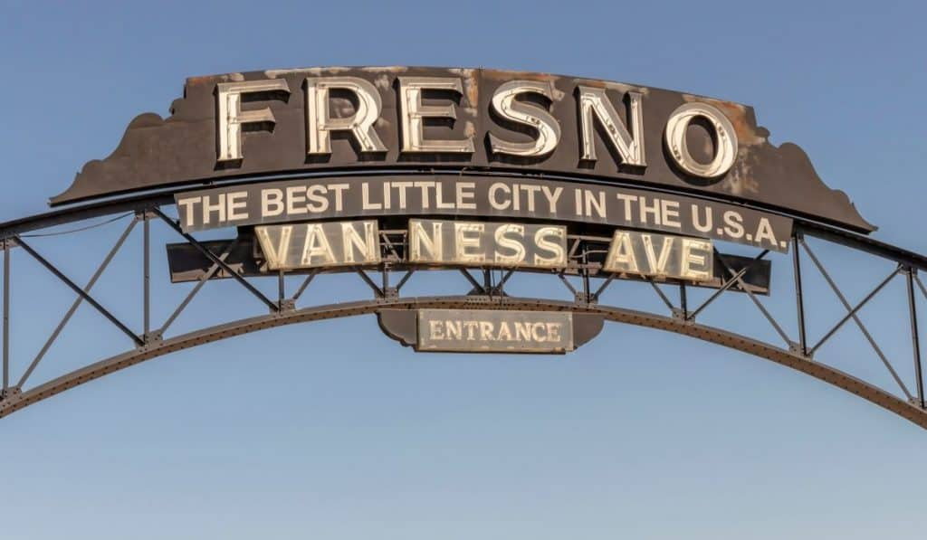 Fresno CA sign