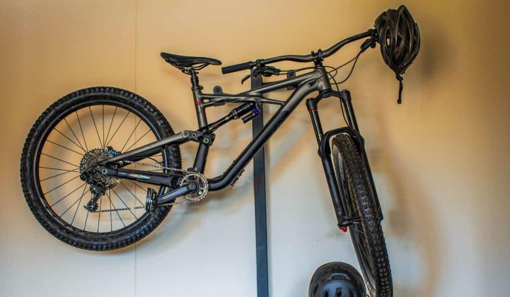 bike standing rack