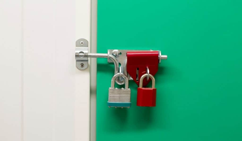 locks for your self storage unit