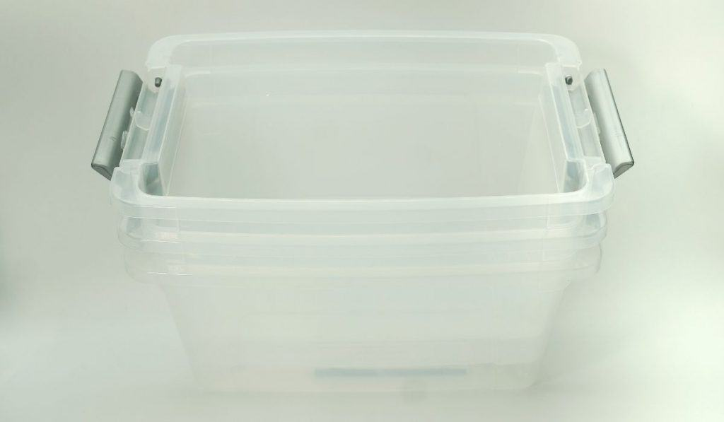 plastic container for storage